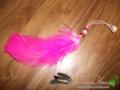 Roze Veer hanger